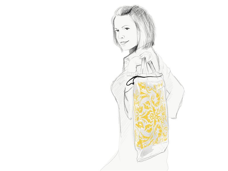 Trendi, ökotudatos női táska Pécsről – Made in Pécs